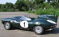 Jaguar D-Type - Le Mans Winner 1955, 1956, 1957